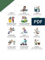 1 Wortschatz Hausarbeit Haushalt