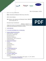 Informe Estado enfriadora Telecom Alvarado