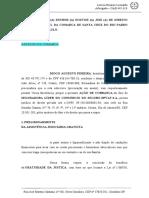 Inicial DPVAT - complementação da indenizaçao