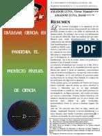 Píxeles de Ciencia - Resumen