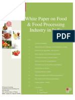 White_Paper_Food_Processing in India