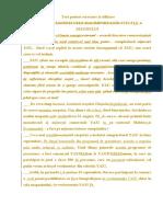 Text pentru corectare şi stilizare