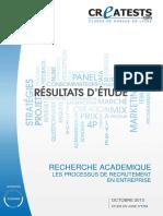 Modele Recherche Academique FormuleC