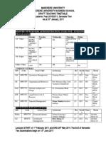 GRC Semester II 2010-2011