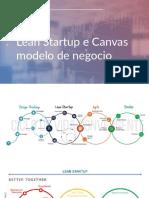 Lean Startup e Canvas modelo de negocio