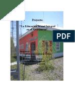 proyecto final La Educación Sexual integral en el Nivel Inicial