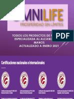 Catalogo de Productos Nutricion Omnilife Actualizo 2021