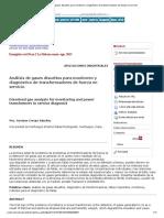 Análisis de gases disueltos para monitoreo y diagnóstico de transformadores de fuerza en servicio