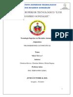 PRÁCTICA II ANÁLISIS DE TRANSMISIÓN A6FL2