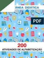 200 Atividades de Alfabetização