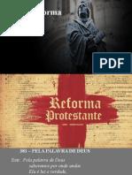 Biblia e Reforma- Estudo Bíblico