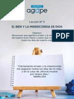 LECCIÓN Nº 5 DE GRUPOS AGAPE FAMILIARES