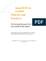 NOVAREGIO Handbook. Regional RTD & Innovation Policies and Practices