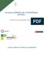 Francisco Escajadillo - Régimen Jurídico de la Propiedad Estatal (Clase 1)