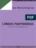 CADERNO DE ORIENTAÇÕES METODOLÓGICAS - ENSINO FUNDAMENTAL - LÍNGUA PORTUGUESA - 3º AO 5º ANO