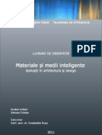 Disertatie 2011_Materiale inteligente