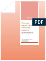Procesos cognitivos en diferentes grupos etarios 1