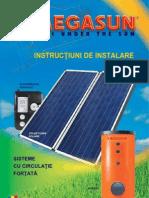 Manual instalare sisteme solare fortate - RO