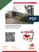 3D Brochure Plat Ten Berg 37 Te Maarn