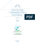 ESTATUTOS ETICA PASTORAL UNIMEPECH