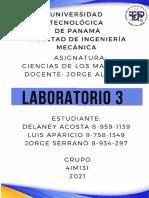Informe 3 Lab Ciencias de los materiales