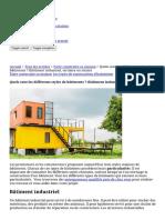 Quels sont les différents styles de bâtiments _ (bâtiment industriel, tertiaire ou mixte) _ Constructeur.pro