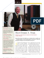 Diversity Journal | Dennis A. Swan, President and CEO – Sparrow Hospital - Nov/Dec 2010