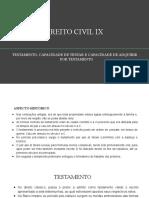 Direito Civil Ix - Testamento (1)