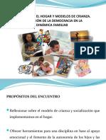 EPM DISCIPLINA EN EL HOGAR Y MODELOS DE CRIANZA