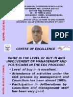CHANDA SENKWE COE PRESENTATION KAPIRI DISTRICT COUNCIL, ZAMBIA
