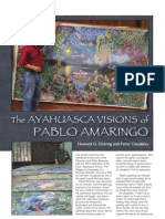 'The Ayahuasca Visions of Pablo Amaringo' - Article from Sacred Hoop Magazine Issue 71