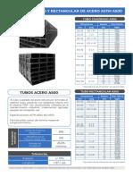 Ficha Tecnica de Tubos Metalicos