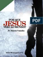 Ebook_74_porque Jesus Veio Ao Mundo