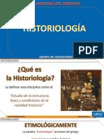 H. DEL DERECHO - SEMANA 3° 2 HISTORIOLOGIA