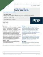 Evaluación integral de las entidades microfinancieras desde la perspectiva de sostenibilidad