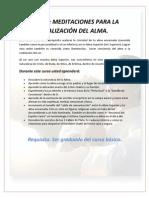 Curso Meditaciones Paar La R Del Alma Para Pag Web