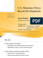 FED Presentation on Monetary Policy, QE and QE2.  2011-03-29