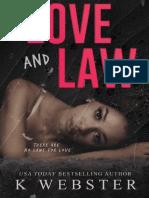 K. Webster - Love and Law (Rev)