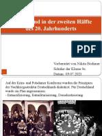 Германия во второй половине ХХ века