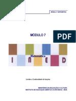 Matematica Modulo 7
