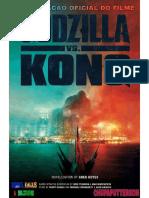 Godzilla vs Kong Novelização GKD