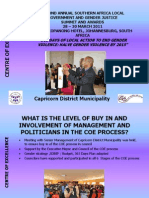 CENTRES of EXCELLENCE_Capricorn District Municipality_27032011