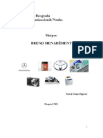 Brand Management - Skripta