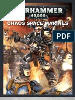 Chaos Space Marine Codex - 5th ed. Final v1.02