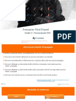 Modulo 8 - Disconoscimento PRE-MODIFICATOOK