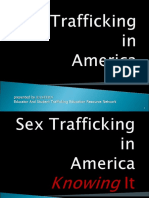"EASTERN Curriculum Level 2 Power Point Presentation - ""Sex Trafficking in America"""