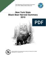 DEC 2010 bear season summary