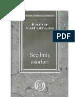 Bahtiyar Vahapzade Seçilmiş Eserleri_1