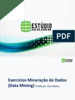 32 Slide Mineração de Dados - Exercicio