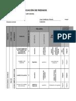 matrix de riesgo en taller automotriz